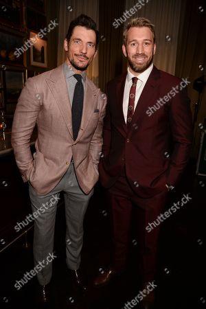 Stock Photo of David Gandy and Chris Robshaw