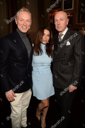 Stock Photo of Gary Kemp, Lauren Kemp and Dylan Jones