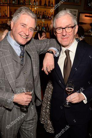 Editorial picture of GQ Mens Fashion Dinner, Inside, Berners Tavern, Fall Winter 2020, London Fashion Week Men's, UK - 06 Jan 2020
