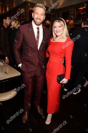 Camilla Kerslake and Chris Robshaw