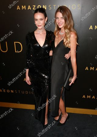 Odette Annable and guest