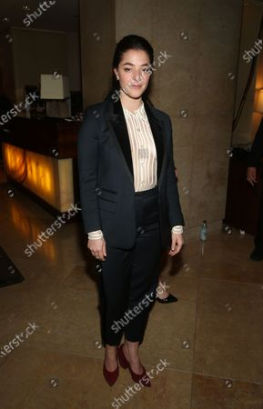 Editorial picture of 77th Annual Golden Globe Awards, Departures, Los Angeles, USA - 05 Jan 2020