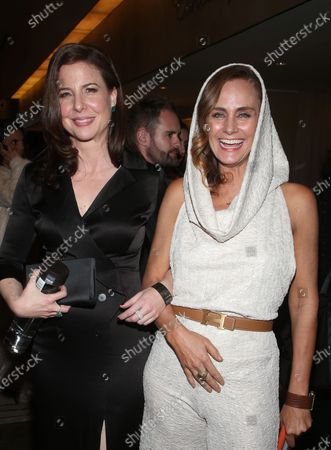 Robin Weigert and Diane Farr