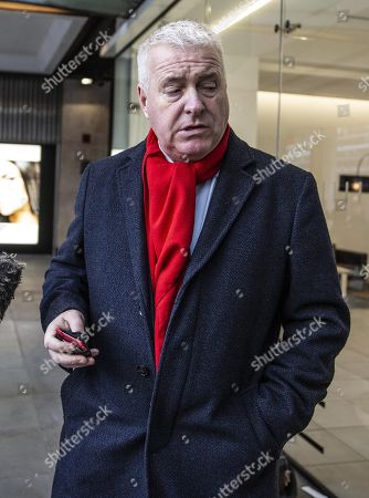 Ian Lavery, Chairman of the Labour Party, arriving at the Labour National Executive Committee (NEC) strategic meeting at the Labour Party HQ to decide on the leadership contest dates