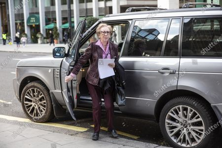 Margaret Beckett, Member of Parliament (MP) for Derby South arriving, at the Labour National Executive Committee (NEC) strategic meeting at the Labour Party HQ to decide on the leadership contest dates