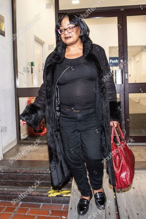 Diane Abbott, Shadow Home Secretary leaving the Labour National Executive Committee (NEC) strategic meeting at the Labour Party HQ to decide on the leadership contest dates.