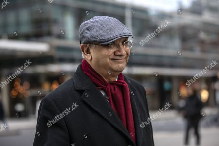 Keith Vaz, Labour Party politician leaving the Labour National Executive Committee (NEC) strategic meeting at the Labour Party HQ to decide on the leadership contest dates.
