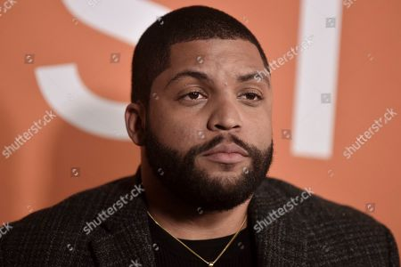 """O'Shea Jackson Jr. attends the LA premiere of """"Just Mercy"""" at Cinemark Baldwin Hills, in Los Angeles"""