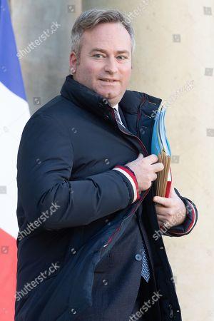 French Junior Minister for Foreign Affairs Jean-Baptiste Lemoyne