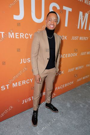Editorial picture of Warner Bros. Pictures presents JUST MERCY Los Angeles Community Screening, Los Angeles, USA - 06 Jan 2020