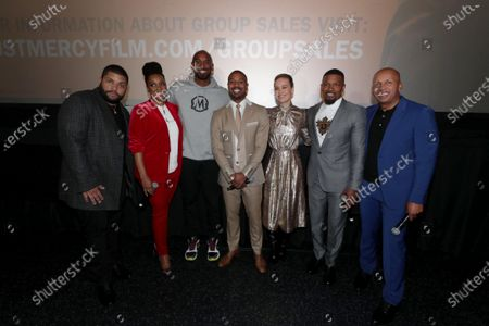 O'Shea Jackson Jr., Karan Kendrick, Kobe Bryant, Michael B. Jordan, Brie Larson, Jamie Foxx, Bryan Stevenson, Author/Executive Producer,