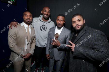 Michael B. Jordan, Kobe Bryant, Jamie Foxx, O'Shea Jackson Jr.
