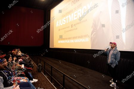 Editorial photo of 'Just Mercy' special screening, Metreon Theater, San Francisco, USA - 06 Jan 2020