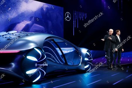 Editorial image of Gadget Show Daimler, Las Vegas, USA - 06 Jan 2020