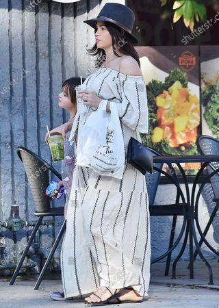 Editorial picture of Jenna Dewan out and about, Los Angeles, USA - 06 Jan 2020