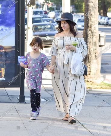 Stock Picture of Everly Tatum and Jenna Dewan