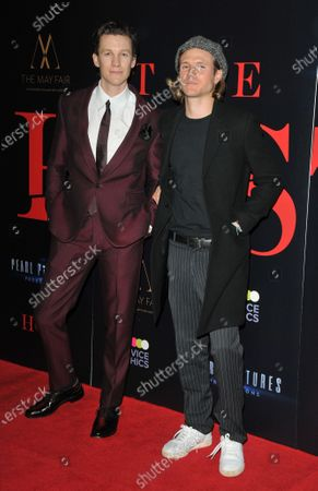 Mike Beckingham and Dougie Poynter