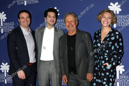 Matt Ratner, Ben Schwartz, Billy Crystal, and Eliose Mumford