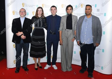 Editorial photo of EE BAFTA Nominations Announcement photocall, Piccadilly, London, UK - 07 Jan 2020