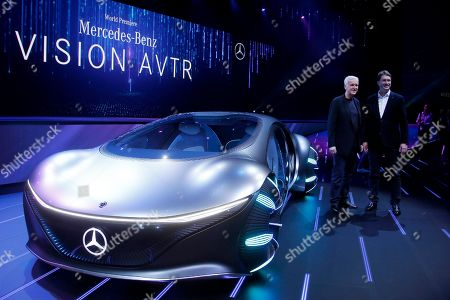Editorial picture of Gadget Show Daimler, Las Vegas, USA - 06 Jan 2020