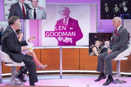 Piers Morgan and Susanna Reid with Len Goodman