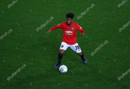 Angel Gomes of Manchester United