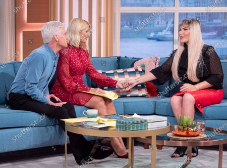 Phillip Schofield and Holly Willoughby with Roddy Alves