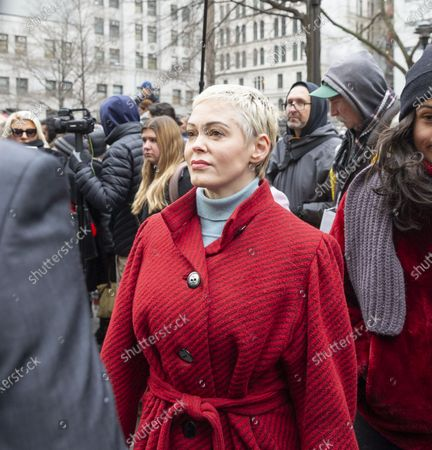 Editorial picture of Harvey Weinstein court hearing, New York, USA  - 06 Jan 2020