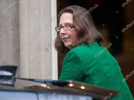 Baroness Evans of Bowes Park, Leader of the House of Lords, Lord Privy Seal, arrives for the Cabinet meeting