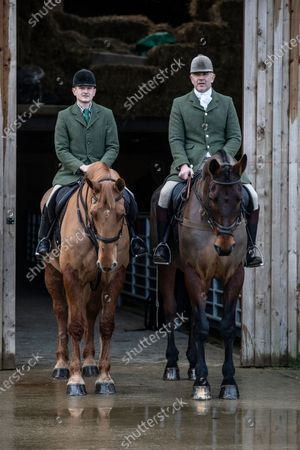 Editorial photo of Ivan Massow, master of the Southdown and Eridge Hunt, East Sussex, UK - 21 Dec 2019