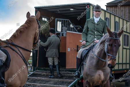 Editorial picture of Ivan Massow, master of the Southdown and Eridge Hunt, East Sussex, UK - 21 Dec 2019