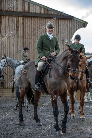 Editorial image of Ivan Massow, master of the Southdown and Eridge Hunt, East Sussex, UK - 21 Dec 2019