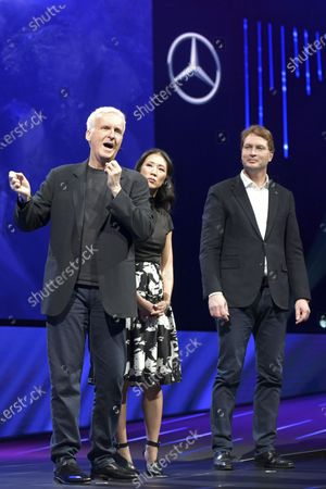 Stock Picture of James Cameron, Ola Kallenius