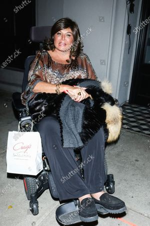Editorial photo of Abby Lee Miller out and about, Los Angeles, USA - 07 Jan 2020