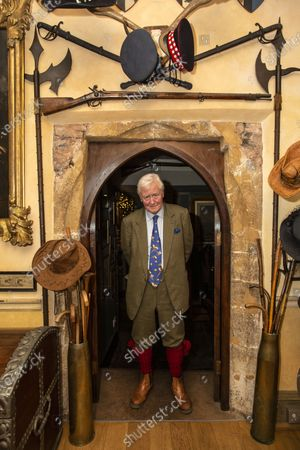 Sir Benjamin Slade (72) Millionaire aristocrat and Brexiteer on his 2,000-acre Maunsel House estate, North Newton