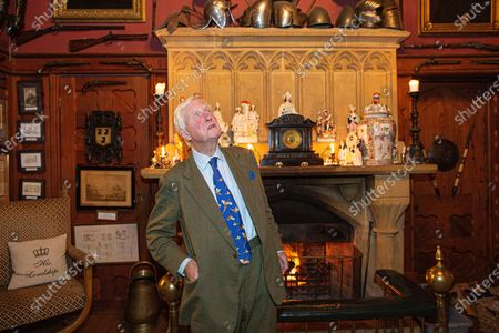 Editorial picture of Sir Benjamin Slade on his 2,000-acre Maunsel House estate, Bridgwater, Somerset, UK - 26 Oct 2019