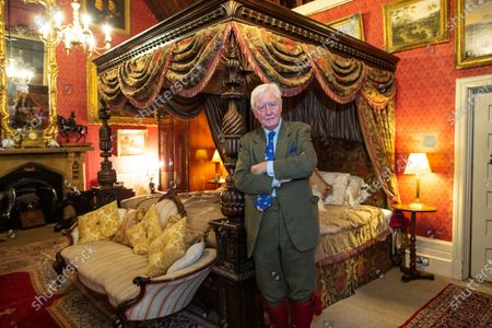 Stock Picture of Sir Benjamin Slade (72) Millionaire aristocrat and Brexiteer on his 2,000-acre Maunsel House estate, North Newton