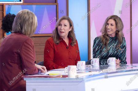 Ruth Langsford, Brenda Edwards, Kay Mellor, Gaynor Faye