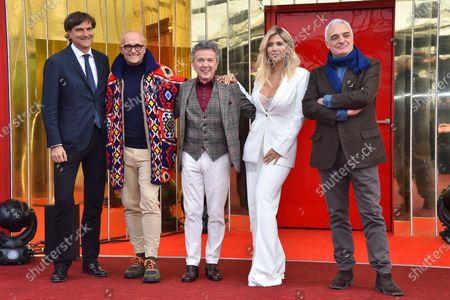 Giancarlo Scheri, Alfonso Signorini, Enzo Ghinazzi, Wanda Nara