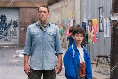 Jean-Claude Van Damme as Daniel and Nicholas Sean Johnny as Miguel