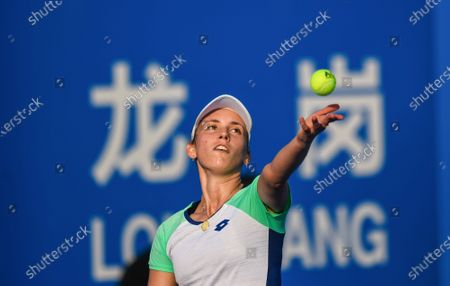 Editorial picture of WTA tennis tournament, Shenzhen, Guangdong province, China - 07 Jan 2020