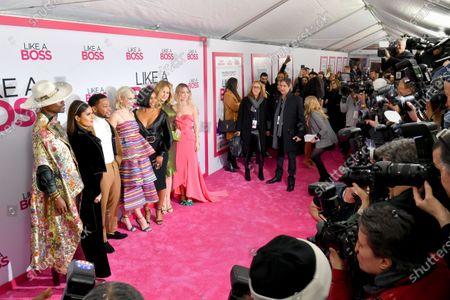 Editorial image of 'Like a Boss' film world premiere, Arrivals, SVA Theater, New York, USA - 07 Jan 2020