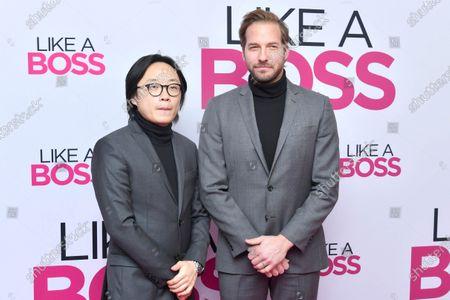 Stock Image of Jimmy O. Yang and Ryan Hansen