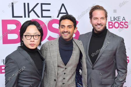 Jimmy O. Yang, Karan Soni and Ryan Hansen