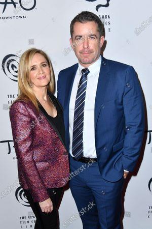Stock Photo of Samantha Bee and Jason Jones