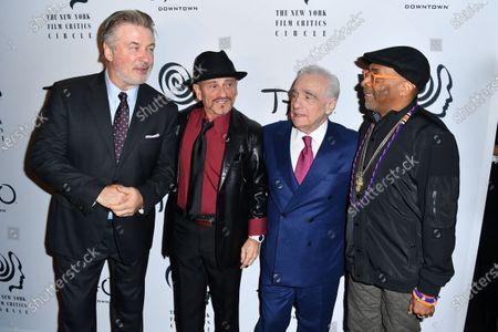 Alec Baldwin, Joe Pesci, Martin Scorsese, and Spike Lee