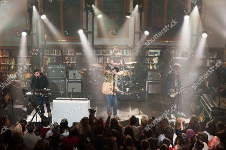 Vampire Weekend - Rostam Batmanglij, Ezra Koenig, Chris Tomson, Chris Baio perform for season 7 of Live from the Artists Den