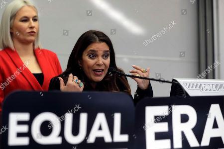 Editorial image of Equal Rights Amendment Lawsuit, Boston, USA - 07 Jan 2020