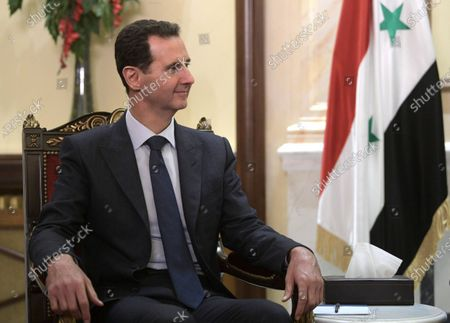 Syrian President Bashar al-Assad during his meeting with Russian counterpart Vladimir Putin in Damascus, Syria, 07 January 2020. Putin arrived in Damascus where he met with Assad, visited headquarters of the Russian forces and were briefed by the commander of the Russian forces operating in Syria.