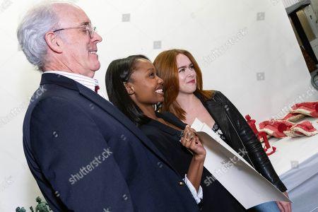 Daryl Anderson, Ashleigh LaThrop and Elizabeth McLaughlin